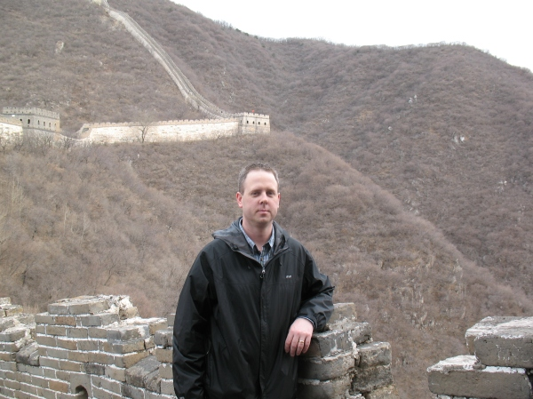 Mark on the Great Wall, 2013