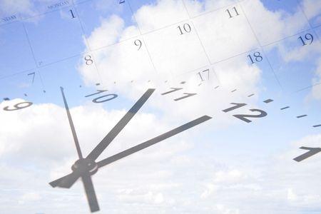 calander clock
